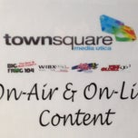 Photo taken at Townsquare Media of Utica-Rome by Dave W. on 2/7/2013