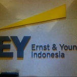 Photo taken at Ernst & Young by Hyewon K. on 10/1/2013