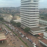 Photo taken at Diamond Trust Building Kampala Road by Eric N. on 1/15/2013