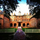 Photo taken at Wren Building and Courtyard by Armistead B. on 7/15/2013