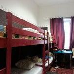 Photo taken at Kanonia Hostel Warsaw by Francis P. on 4/27/2013