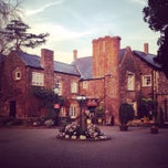 Photo taken at The Priory Restaurant & Hotel Caerleon by Vincent on 3/13/2014
