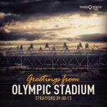 Photo taken at Olympic Stadium by Enrico V. on 8/12/2013
