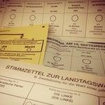 Photo taken at Adolf-Weber-Gymnasium by Fabian R. on 9/15/2013