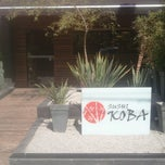 Photo taken at Sushi Koba by Cássio H. on 5/4/2013