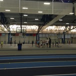 Photo taken at Mackal Fieldhouse by Tim R. on 8/7/2014