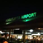 Photo taken at Adisutjipto International Airport (JOG) by Doddy S. on 5/6/2013