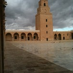 Photo taken at Grande Mosquee de #Kairouan s Great Mosque by Sadok A. on 1/18/2013
