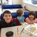 Photo taken at Lake Oswego Ice Creamery by Chris M. on 4/25/2014