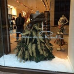 Photo taken at Oscar de la Renta by Mezna A. on 1/2/2014