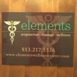 Photo taken at elements wellness center by Kate C. on 2/20/2013