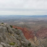 Photo taken at Turtle Head Peak by Erik D. on 10/7/2014