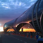 Photo taken at Международный аэропорт Домодедово / Domodedovo International Airport (DME) by Elena G. on 5/19/2013