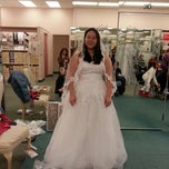 Photo taken at David's Bridal by April M. on 1/5/2013