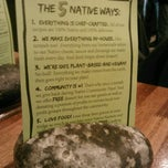 Photo taken at Native Foods Café by Mark B. on 3/10/2013