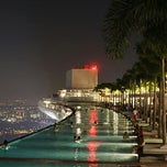 Photo taken at Rooftop Infinity Edge Pool by Andrii A. on 4/17/2013