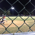 Photo taken at Wheaton Regional Field 3 by Jared M. on 4/8/2013