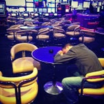 Photo taken at Sports Book @ Peppermill Casino by Brandon P. on 10/5/2013