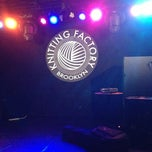 Photo taken at The Knitting Factory by Creighton D. on 11/9/2012