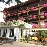 Photo taken at Hotel Des Alpes by Thomas G. on 10/4/2014