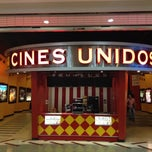 Photo taken at Cines Unidos by Ramón Alberto R. on 11/16/2012