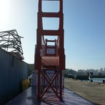 Photo taken at Red Cross Building at Pier 54 by Pablo Jimenez on 4/16/2014