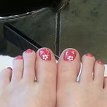Photo taken at Nails Club by Debbie J. on 3/16/2013