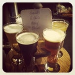 Photo taken at Flat Branch Pub & Brewing by Katie Q. on 10/5/2012