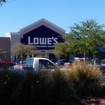 Photo taken at Lowe's Home Improvement by Jeffrey ♊ T. on 3/13/2013