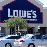 Photo taken at Lowe's Home Improvement by Jeffrey ♊ T. on 5/3/2013