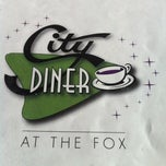 Photo taken at City Diner at the Fox by Jamey D. on 10/11/2013