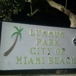 Photo taken at Lummus Park by Julia P. on 3/26/2013