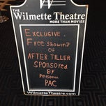 Photo taken at Wilmette Theatre by Linnéa L. on 6/23/2014