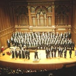 Photo taken at New England Conservatory's Jordan Hall by Jeff N. on 3/24/2013