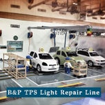 Photo taken at Toyota Body Service Co., Ltd. by Oaku on 2/9/2013