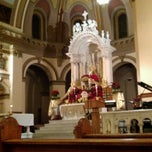 Photo taken at St. Aloysius Church by Whitney J. on 12/25/2012