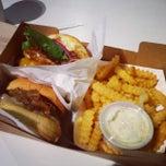 Photo taken at Custom Burgers by Pat La Frieda by Tommy W. on 1/4/2015