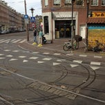 Photo taken at Tramhalte (16, 24) Albert Cuypstraat by Hen s. on 4/30/2013