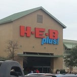 Photo taken at H-E-B plus! by Scott M. on 12/23/2012