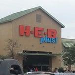 Photo taken at H-E-B plus! by Scott M. on 12/23/2012