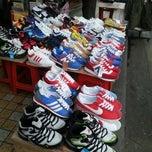 Photo taken at Seoul Street (shoes Market) by Kamarun Y. on 12/13/2012