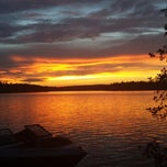 Photo taken at Pleasent Lake by Kaitlyn D. on 7/7/2013