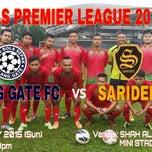 Photo taken at Stadium Mini Shah Alam by Emirul Izzat Z. on 5/24/2015