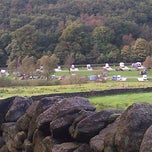 Photo taken at Hayfield Camping and Caravanning Club Site by mike c. on 9/29/2012