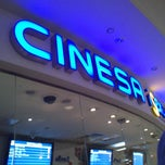 Photo taken at Cinesa Diagonal Mar by Mariela C. on 8/21/2013