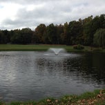 Photo taken at Malapardis Park by Mike K. on 10/13/2013