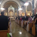 Photo taken at Nativity B.V.M Church by Walter R. on 10/5/2013