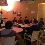 Photo taken at Café Punto C by Gilda E. on 10/3/2013