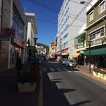 Photo taken at Rua Coronel Pedro Penteado by Clau T. on 7/1/2014
