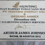 Photo taken at PT Hunting Energy Asia by Edwin on 2/5/2014